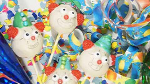 Rezept und Anleitung: PARTY Cake Pops zu Karneval selberbacken